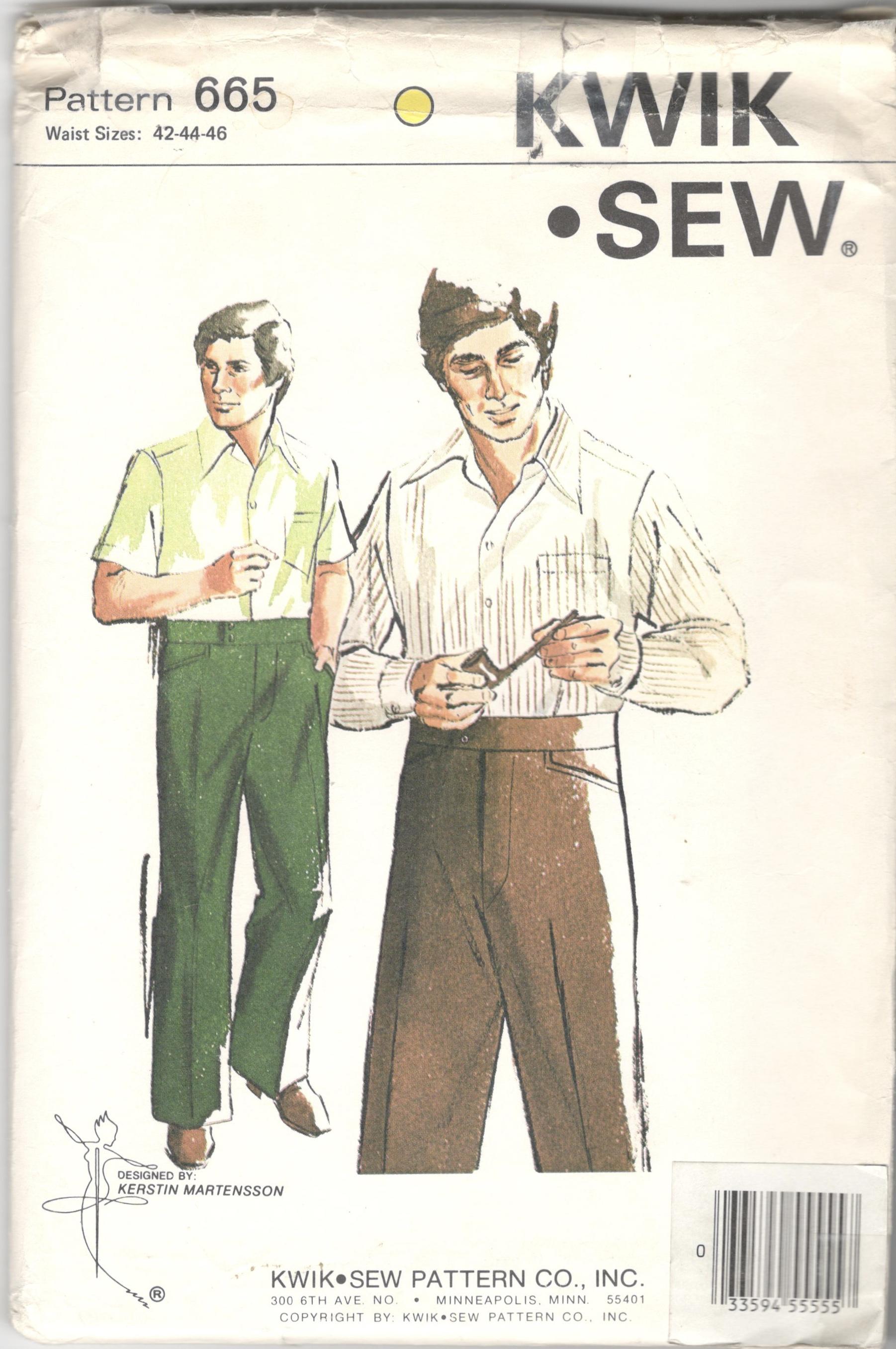 Kwik Sew 665 | Vintage Sewing Patterns | FANDOM powered by Wikia