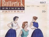 Butterick 6843 B