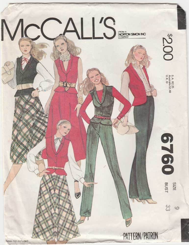 McCall\'s 6760   Vintage Sewing Patterns   FANDOM powered by Wikia