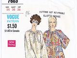 Vogue 7603 A