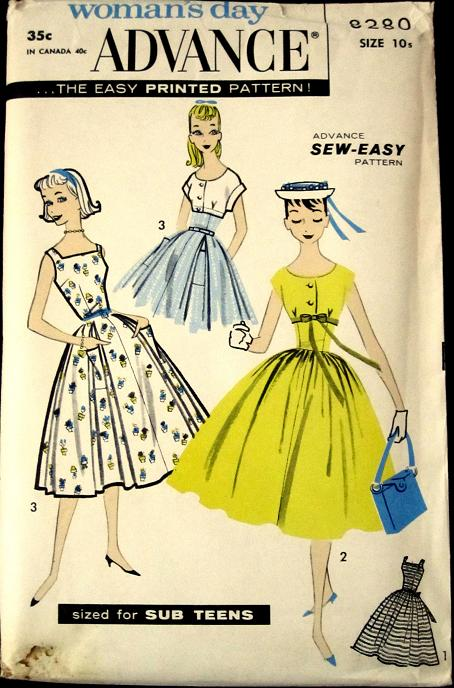 Advance 8280 | Vintage Sewing Patterns | FANDOM powered by Wikia