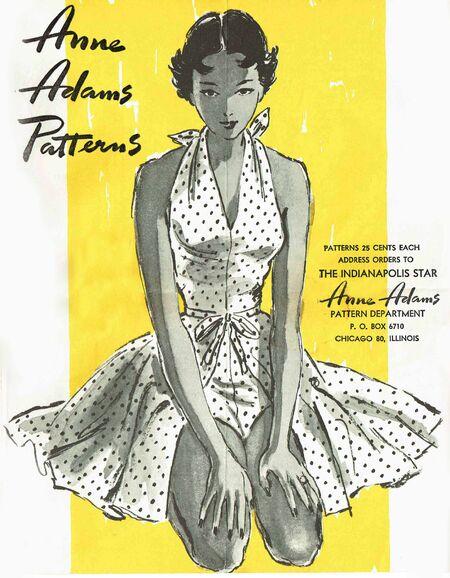 Anne Adamns Summer 1950