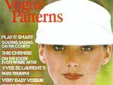Vogue Patterns March/April 1975