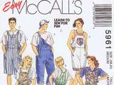 McCall's 5961 B