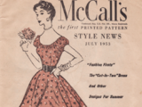 McCall's Style News July 1953