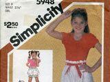 Simplicity 5948 B
