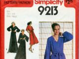 Simplicity 9213 A
