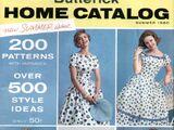 Butterick Home Catalog Summer 1960