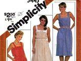 Simplicity 5443 B