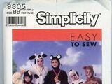 Simplicity 9305 B