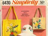 Simplicity 6430 A