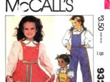 McCall's 9329 B