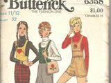 Butterick 6358 B