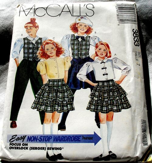 McCalls 3833 -001