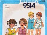 Simplicity 9514 A