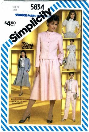 Simplicity 5834