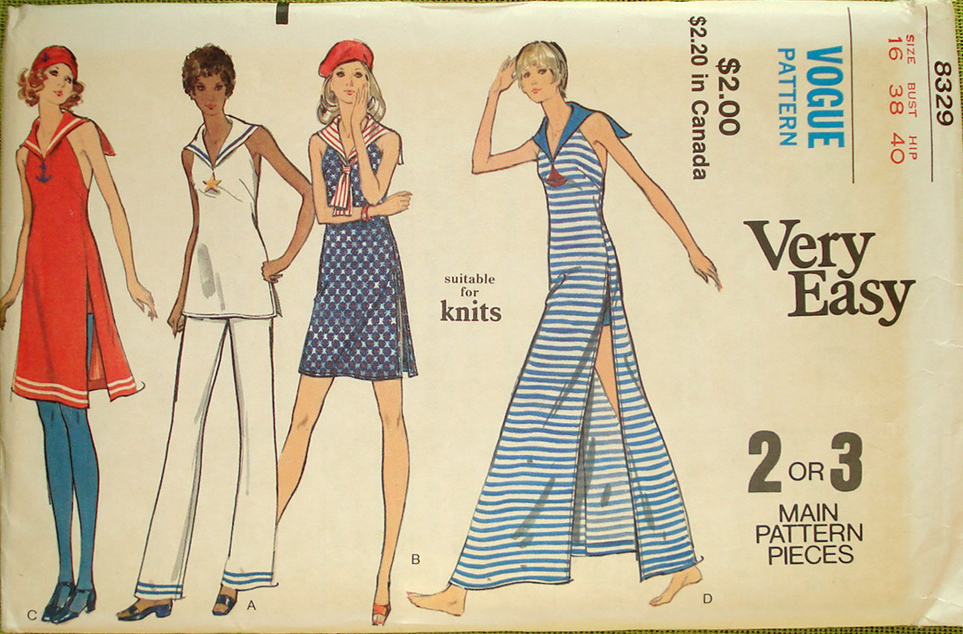 Vogue 8329 | Vintage Sewing Patterns | FANDOM powered by Wikia