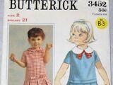 Butterick 3452 A