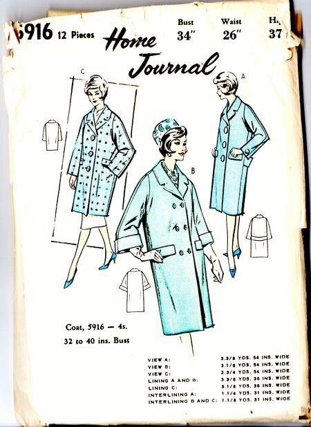 Home journal 5916