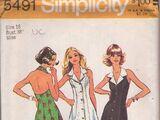 Simplicity 5491 B