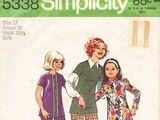 Simplicity 5338 B