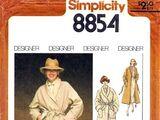 Simplicity 8854 A