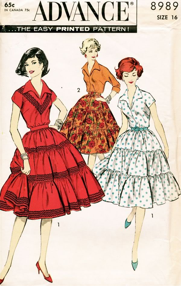 Advance 8989 Vintage Sewing Patterns Fandom Powered By