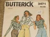 Butterick 3471 A