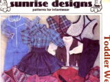 Sunrise Designs Toddler Westernwear