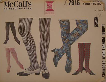 2992da615 Proportioned stockings to make in a jiffy. Pattern includes all sizes