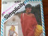 Simplicity 6321 A