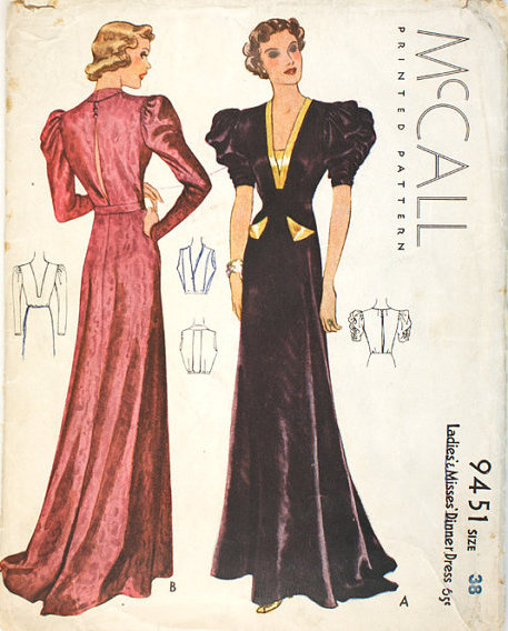 Mccall 9451 Vintage Sewing Patterns Fandom Powered By Wikia