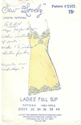 Sew Lovely S701