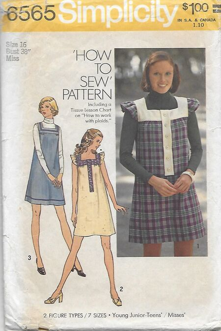 Simplicity 6565 front 1