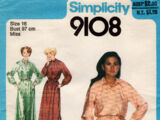Simplicity 9108 B