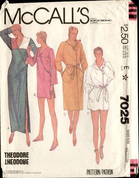 McCalls 7025 a 80