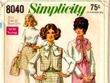 Simplicity 8040
