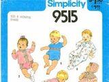 Simplicity 9515 A