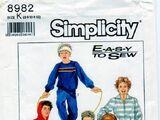 Simplicity 8982 A
