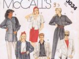 McCall's 3034 A
