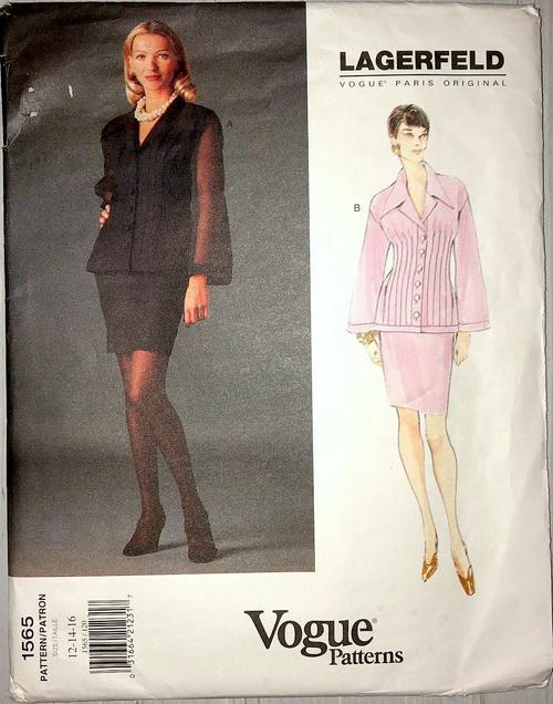 Vogue lagerfeld