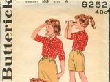 Butterick 9252