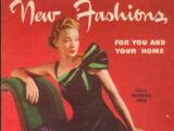 Singer New Fashions Fall Winter 1939
