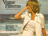 Vogue Patterns June/July 1972