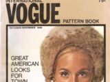Vogue International Pattern Book October/November 1968