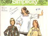 Simplicity 5369