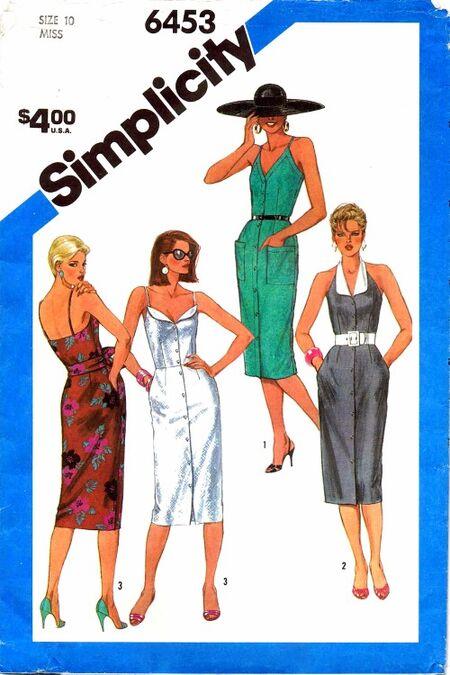 Simplicity 1984 6453