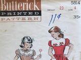 Butterick 5814 A
