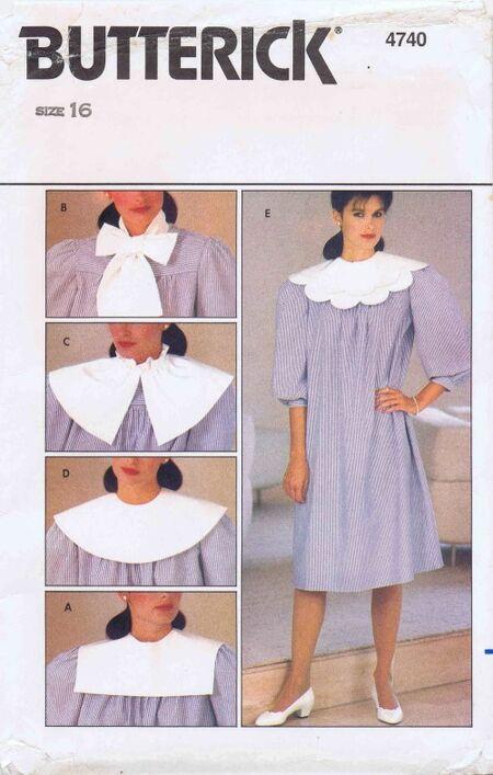 Butterick 1982 4740 F Size 16