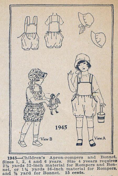 Home Dressmaker 0154 1945